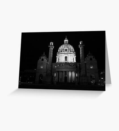 Karlskirche Greeting Card