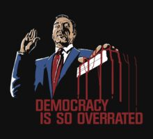 Democracy Is So Overrated (Dark Blood) T-Shirt