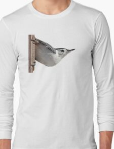 White-breasted nuthatch Long Sleeve T-Shirt