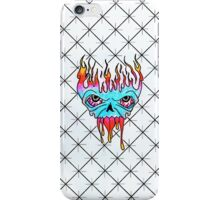Droopy skull thing iPhone Case/Skin