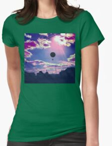 Balloon Trip Womens Fitted T-Shirt