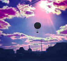 Balloon Trip by oneshadeofgrey