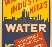 War Industry Needs Water! by Vintagee