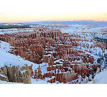 Spectacular Winter Scenery Photographic Print