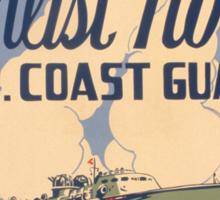 U.S. Coast Guard Sticker