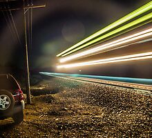 Told You it was a Train by Richard Bozarth