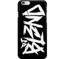 Dj BL3ND black-white iPhone Case/Skin
