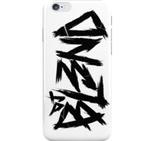 Dj BL3ND white-black iPhone Case/Skin