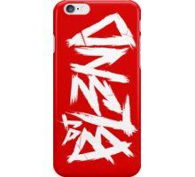 Dj BL3ND white-red iPhone Case/Skin