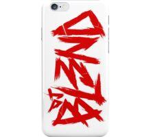 DJ BL3ND red- white iPhone Case/Skin