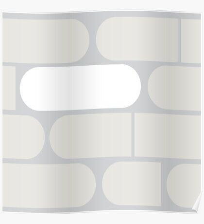 Bitter Pills in Gray Poster