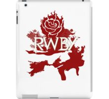 RWBY red rose iPad Case/Skin