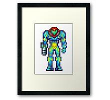 Metroid Fusion Framed Print