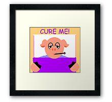 Cure Me Framed Print