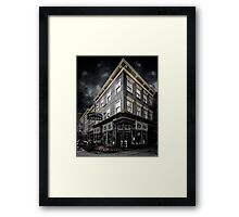 The White Horse Tavern Framed Print