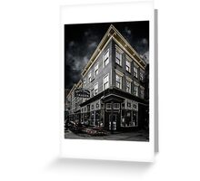 The White Horse Tavern Greeting Card