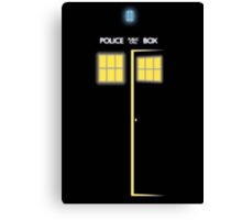Glow of the TARDIS Canvas Print