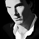 Benedict Cumberbatch by theridingcrop