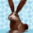 Brown Easter Bunny by chadcameron