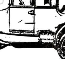 Model T Black Sticker