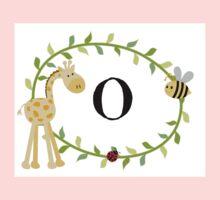 Nursery Letters O One Piece - Long Sleeve