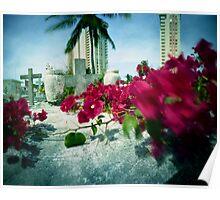 City Graveyard 1, Luquillo, Puerto Rico Poster