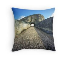 Castillo San Felipe del Morro 2, Puerto Rico Throw Pillow