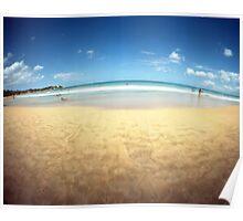 Playa Azul 3, Luquillo, Puerto Rico Poster