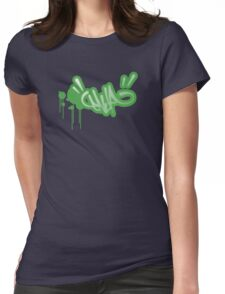 Flayure (retro) Womens Fitted T-Shirt