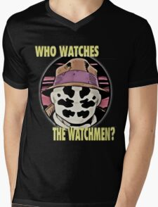 roshach from the watchmen Mens V-Neck T-Shirt
