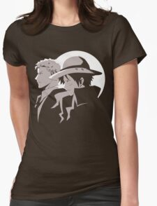 Two Of A Kind Womens Fitted T-Shirt