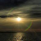 Sunset over KI by Nuttee Ratanapiseth