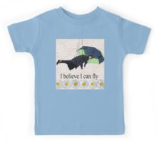 Benedict Cumberbatch is flying through the air! Kids Tee