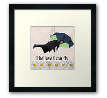 Benedict Cumberbatch is flying through the air! Framed Print
