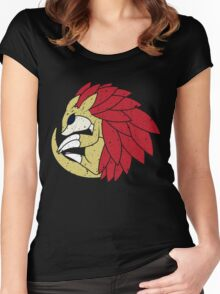Spiny Ouroboros (Shiny Coloration) Women's Fitted Scoop T-Shirt