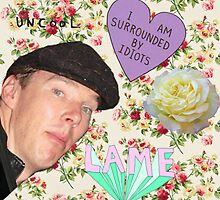 Hide yo gurlz, Benedict Cumberbatch is about! by molley13