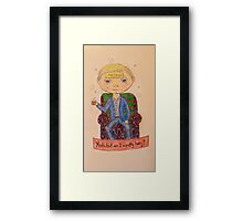 John Watson is drunk Framed Print