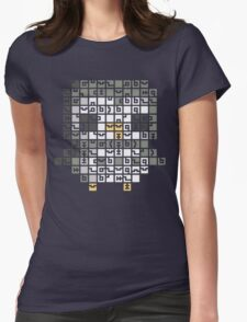 FEZ Owl Tiles Womens Fitted T-Shirt