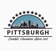 Pittsburgh Pennsylvania Freaking Awesome Since 1816 Kids Clothes