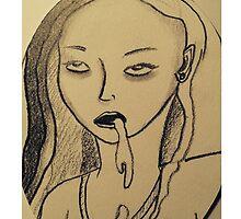 Vomitgirl by MarlaMustard