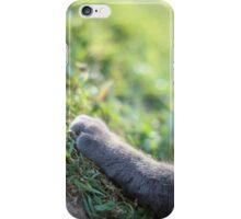 Pawfect Cute Cat Paw iPhone Case/Skin