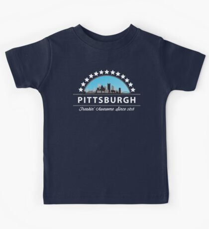 Pittsburgh Pennsylvania Freaking Awesome Since 1816 Kids Tee