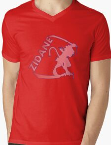 Trance Zidane Mens V-Neck T-Shirt