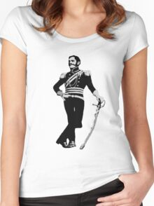 Flashman Tee Women's Fitted Scoop T-Shirt