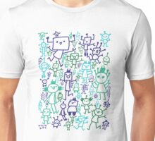 Robot Party Unisex T-Shirt