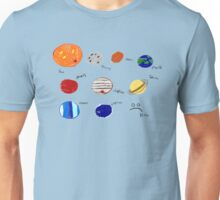 The solar system.... :( Unisex T-Shirt