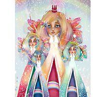 Rainbow Fairies Photographic Print