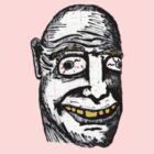 Man With Yellow Teeth  by brandopat