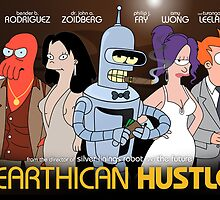 Earthican Hustle - parody movie poster C by lavalamp