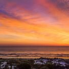 Colorful Coastal Daybreak by Kenneth Keifer